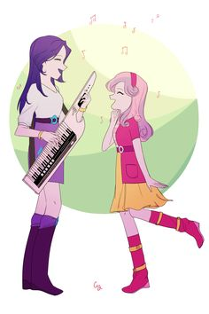 EQG Singing Sisters by MagneticSkye.deviantart.com on @DeviantART