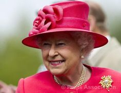 The Queen at Chester Zoo at the start of the second day of a two-day Diamond Jubilee tour of the North West, 17 May 2012.