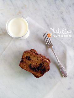 Nutella Pumpkin Bread