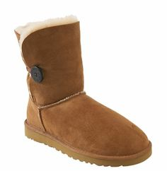 I want a pair of these. :)  UGG® Australia 'Bailey Button' Boot (Women) available at #Nordstrom