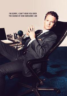 Oh Barney...