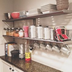 Small kitchen on pinterest small kitchens tiny kitchens for Very narrow kitchen cabinet