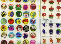 Smelly stickers...could also be used as currency!