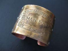 coffin tag bracelet