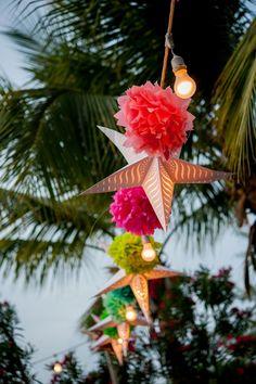 A colorful beach wedding in Turks & Caicos at Beaches Resort! {Davina + Daniel Photography}