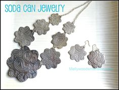 Mellywood's Mansion: Soda Can Jewelry
