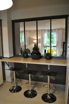 Cuisine on pinterest atelier showroom and white kitchens - Decoratrice d interieur aurelie hemar ...