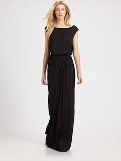 Rachel Pally - Boatneck Jersey Maxi Dress - Saks.com