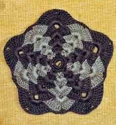 Dense Motif free crochet graph pattern