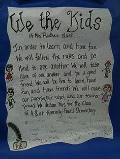Class Constitution... such a good idea!