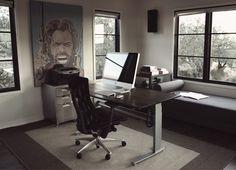 Minimal office.