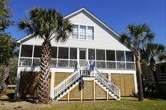 House vacation rental in Sullivan's Island from VRBO.com! #vacation #rental #travel #vrbo
