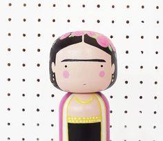 Frida Kahlo KOKESHI DOLL by SketchInc