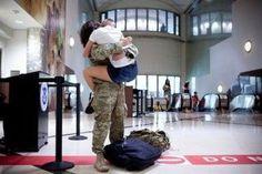 Military. Reunited again.
