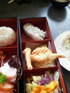 A bento box from Haru