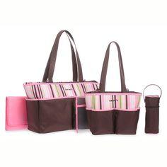 BESTSELLER! Carters 5 Piece Diaper Bag Set - Brow... $39.95