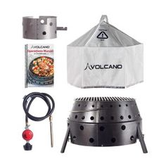 Enter to win a FREE Volcano Collapsible Stove Cooking Combo. To enter, simply take a quiz, and beef up your knowledge on this awesome grill. Giveaway ends Nov. 30th, 2013