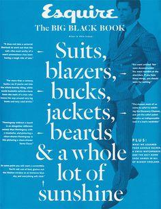 The Typofiles #106: Esquire Big Black Book by Nubby Twiglet, via Flickr