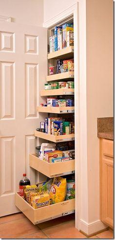 slide out pantyr shelves