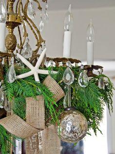 Create a Coastal-Chic Holiday Table