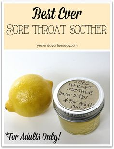 The Best Sore Throat