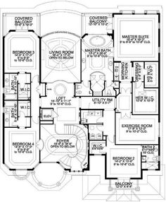 Large 1 floor plan. I would make some tweaks though.