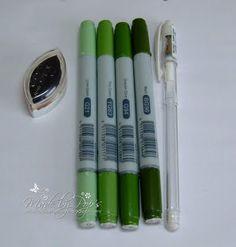 Grass Tutorial Copics and white pen x