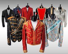 Balmains Michael Jackson inspired jackets
