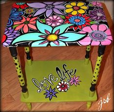 Flowered Table