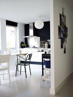 paris, scandinavian interior design, black walls, scandinavian interiors, grey kitchens, black white, stylizimo blog, homes, blog designs