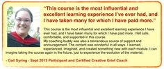Want to get your grief + creativity skills on? Apply today to join us for your continuing education! Course starts next week: http://griefcoachingcertification.com/creative-grief-coach-certification/