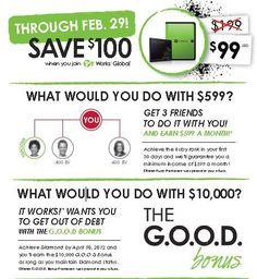 Get Out Of Debt Bonus til Feb. 29th