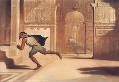Flight and Pursuit - William Rimmer