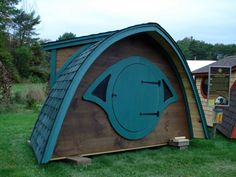 Hobbit hole playhouse. I think this is meant for kids, but screw that, I want one!