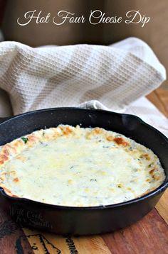 Four Cheese Hot Dip