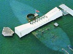 USS Arzizona Memorial, Pearl Harbor, Hawaii
