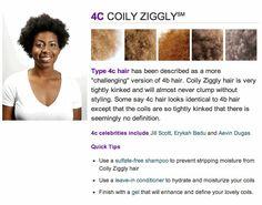 Type 4C hair