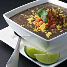 Crock Pot Black Bean Soup Recipe