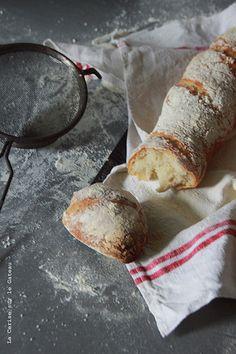 ... fresh homemade baguettes ...