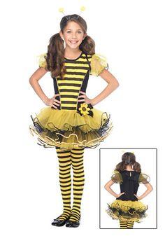 Girls Buzzy Bee Costume