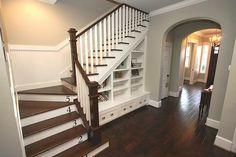 Stairs to bonus room