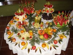 party or  catering ideas