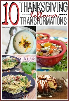 10 Thanksgiving Leftover Ideas