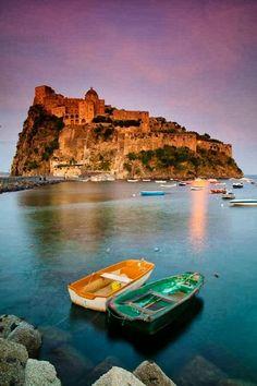 Castello Aragonese on Ischia Island, Italy
