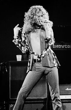 Robert Plant: Lead singer for the fabulous Led Zeppelin...look real close! LOL