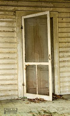 Old Screen Door (can still hear the sound a screen door makes when it closes)