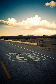 Route 66 Road Trip  California Desert  Route by RetroRoadsidePhoto, $120.00
