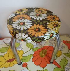 Vintage step stool from the sixties  Kitchen by alsredesignvintage, Etsy