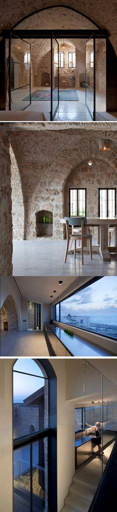 300+ Year-Old House Renovation in Tel Aviv, Israel