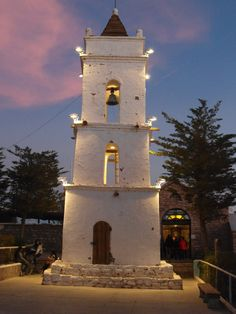 Bell Tower in Toconao, Antofagasta.